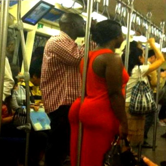How to steady yourself on the subway